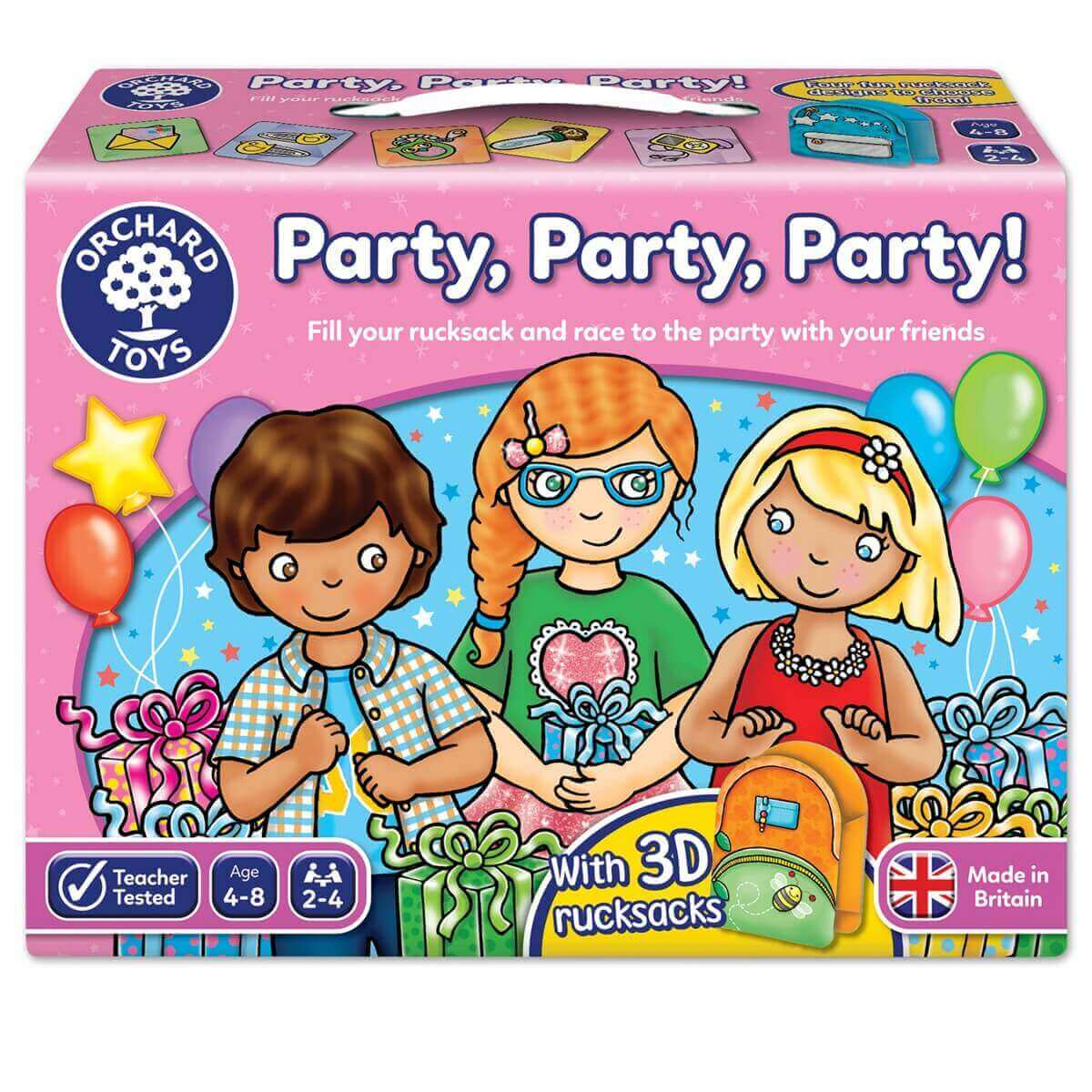 Jogo Party, Party, Party!