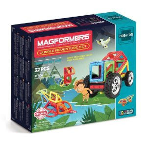Magformers Adventure Jungle Set 32 Peças