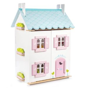 Casinha de Bonecas Blue Bird Cottage
