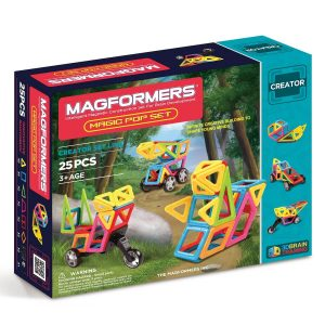 Magformers Magic Pop Set 25 Peças