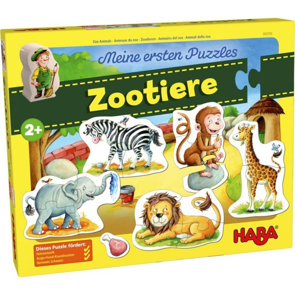 Puzzle Animais do Zoo