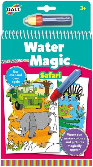 Livro de Colorir Water Magic Safari
