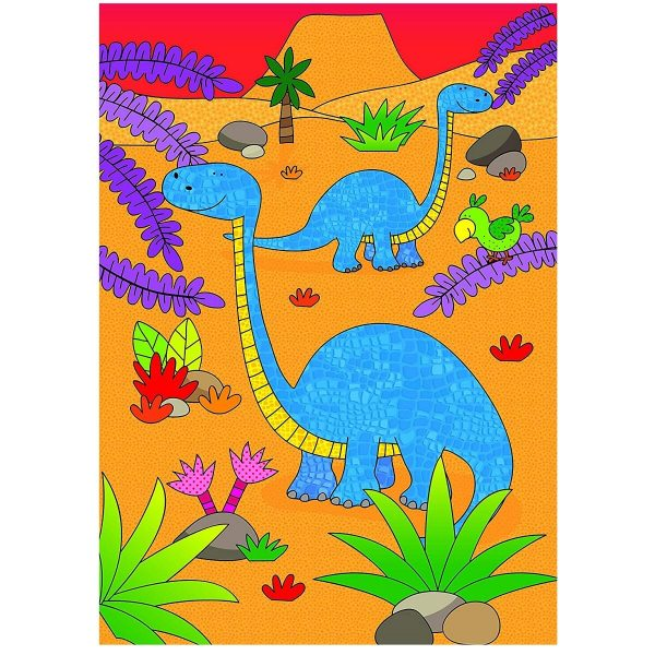 Livro de Colorir Water Magic Dinossauros