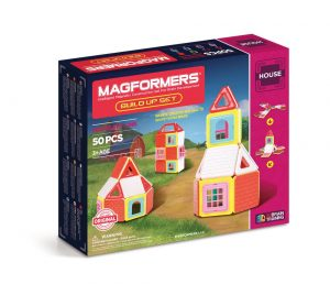 Magformers Build Up Set 50 Peças