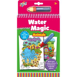 Livro de Colorir Water Magic Animais